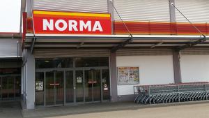 NORMA Filiale Mühlhausen Hollenbacher Landstr. Frontansicht