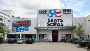 Seats and Sofas Filiale in Berlin - Außenansicht