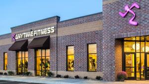 Anytime Fitness Studio USA Außenansicht